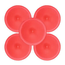 5Pcs 64mm Air Hockey Round Pucks Children Table Mallet Games Party Toy Unique
