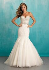 Allure Wedding dress 9305 Size 14  -- Free Shipping