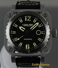 NEW Lum-Tec G Series G1 Swiss Quartz Military Watch AUTHORIZED DEALER WARRANTY