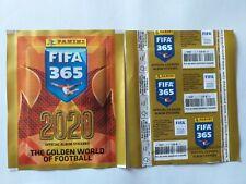 POCHETTE PANINI FIFA 365 2020 PACKET TUTO TEN BUSTINA FRENCH VERSION PRICE BACK