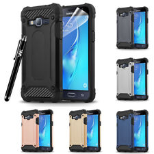 For Samsung Galaxy J3 2016 Case Hybrid Rugged Armor Shockproof Bumper Hard Cover