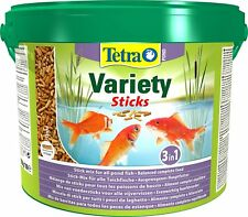 TETRA POND VARIETY STICKS BUCKET 1650G FLOATING FISH FOOD TUB TETRAPOND STICK