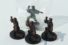 x3 Doom Fist Monk with Cards + Promo - D&D Minis - Dungeons & Dragons Miniatures