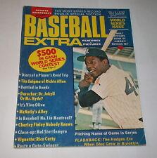 1972 Sports Quarterly Baseball HANK AARON Atlanta BRAVES   !