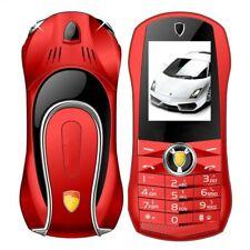 Unlocked Mini Metal Body Mobile Cell Phone Cute Car Phone With Dual Sim No Cam