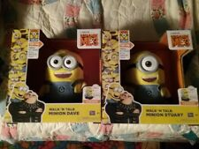 Despicable Me 3 Walk N Talk Minion Dave & Walk N Talk Minion Stuart Thinkaway