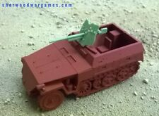 28mm German Sdkfz 251/10 Neu Half Track In Resin By Blitzkrieg WWII Bolt Action,