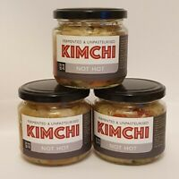 UK Made Kimchi x3 No-Spice. AuthenticKoreanRecipe
