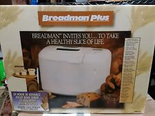 Breadman TR845 Bread Machine Dough - Used Once and Worked Great
