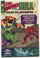 Tales To Astonish 73 Marvel 1965 FN VF Hulk Sub-Mariner Jack Kirby Stan Lee