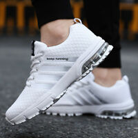 Mens Sneakers Air Cushion Sports Running Shoes Lightweight Breathable Athletic