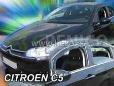 CITROEN C5 4/5-portes 2008-2017 Deflecteurs de vent 2-pièces HEKO Bulles