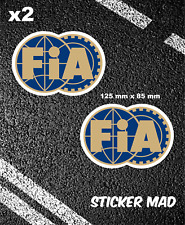 FIA Stickers Vinyl F1 Motorsport / Ferrari / Mclaren/ Williams / Lotus