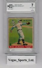 JIM ELLIOTT  RC  1933 GOUDEY  #132,  BECKETT GRADED 7,  (BCCG) WELL CENTERED