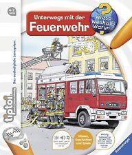 Tiptoi Unterwegs mit der Feuerwehr Buch 4-7 Jahre Ravensburger + BONUS