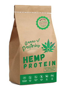 Eco natural vegan HEMP PROTEIN powder WITHOUT THERMAL AND CHEMICAL TREATMENT
