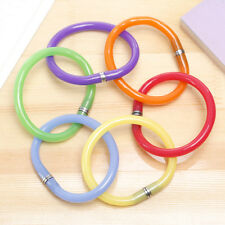 Lovely 5pcs Mixed Bulk BallPoint Pen Bangle Bracelet Wristband Flexible Pen 2017