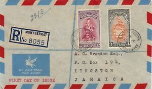 LEEWARD ISLANDS : INAUGURATION OF BWI UNIVERSITY COLLEGE, FIRST DAY COVER (1951)