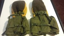 VINATGE US GI Arctic Military Mittens and Liner Set EXTREME COLD WEATHER Gloves