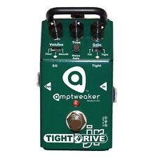 Amptweaker Tight Drive JR Overdrive/Distortion Guitar Effects Pedal +Picks