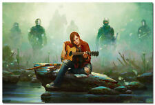 The Last of Us Game Art Silk Poster Print 20x30 inches A Girl With Guitar