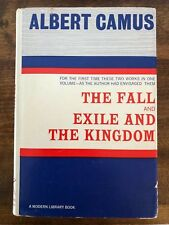 The Fall and Exile And The Kingdom Albert Camus. Modern Library Hardcover