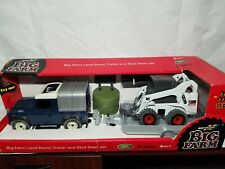 Land Rover Defender with Bobcat S300 - Britains 42919 - Scale Model Toy NIB