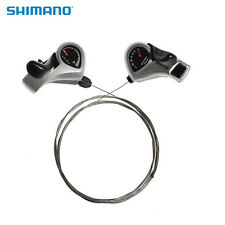 SHIMANO Tourney SL-TX50 Index Thumb Gear Shifters Shift Levers 3x7 Speed Shifter