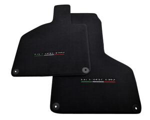 Floor Mats For Lamborghini Huracan Coupe 2014 Black Tailored Carpets With Emblem