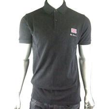 Camicie casual e maglie da uomo neri Ben Sherman