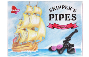 Malaco Skipper's Pipes 20 x licorice candy - original - New & Fresh from Germany