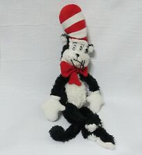 The Cat in the Hat Manhattan Toys Dr Seuss Plush Fuzzy Stuffed Beanbag 2001