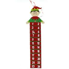 Wall Hanging Christmas Elf Advent Calendar