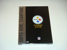 Nfl Pittsburgh Steelers Super Bowl Champions Collector's Edition Dvd Set, New