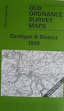 Old Ordnance Survey Map Cardigan & District & Plan Llechryd 1909 Sheet 193 New