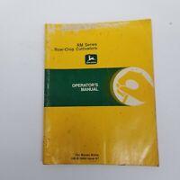 John Deere RM Series Row Crop Cultivators Operator's Manual, OM-N159462 Issue K7