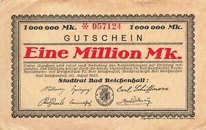 Germany 1 Million Mark 1923