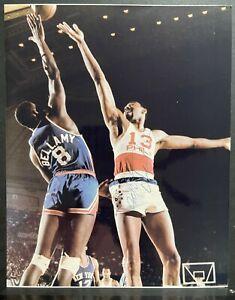 Wilt Chamberlain Signed Autograph 8x10 Photo Philadelphia 76ers HOF JSA COA