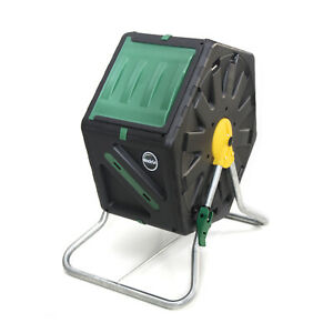 Miracle-Gro DFSC70 18.5 Gal Tumbling Garden Waste Soil Composter w/Hand Tool Kit