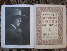 1905 Roycrofters East Aurora Books for Sale in Shop-Catalog-Photos -Illustrated