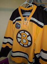 BOSTON BRUINS AUTHENTIC 2010 NHL WINTER CLASSIC REEBOK EDGE 2.0 7287 JERSEY