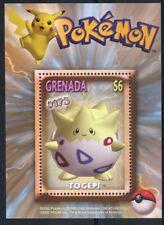 Grenada - 2002 MNH Pokemon #175 Togepi 1v S/S Nintendo Stamps