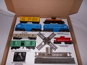 """AMERICAN FLYER 20206  SET BOX AND INSERTS ONLY """"FIRESTONE """"NO TRAINS OR CARS"""