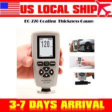 Digital Paint Coating Thickness Tester Meter Range 0 5118mils Probe Gauge Usa