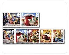 Engeland 2010 kerst serie 7w  luxe postfris