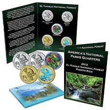 National Park Quarter Set - El Yunque National Forest Puerto Rico