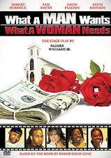 What a Man Wants...What a Woman Needs (DVD, 2007) Sam Salter, Shirley Murdock