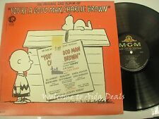 Original cast, you're a good man charlie brown LP (VG)12""