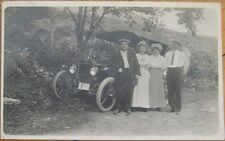 1915 Realphoto PC - Ford Car in Athens, Pennsylvania PA