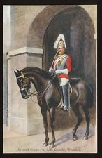 Military 1st LIFEGUARDS Whitehall Mounted Sentry PPC